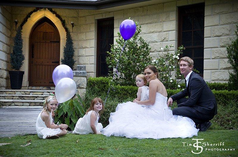 Little family wedding