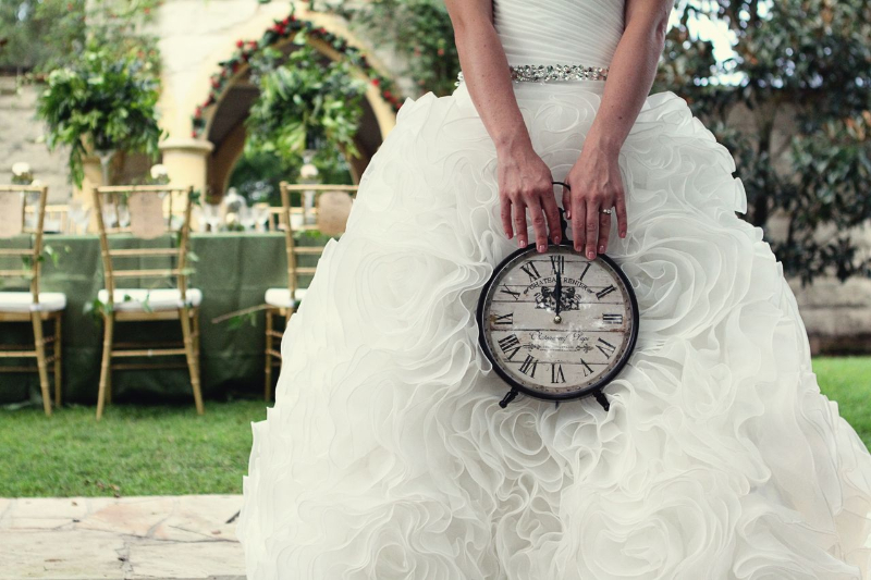 once-upon-a-time-ever-green-gardens-wedding-bride-time