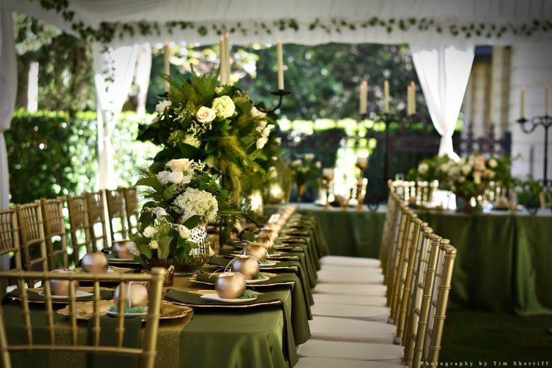 Green & Gold Reception