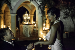 wedding-proposal evergreen-garden-venue