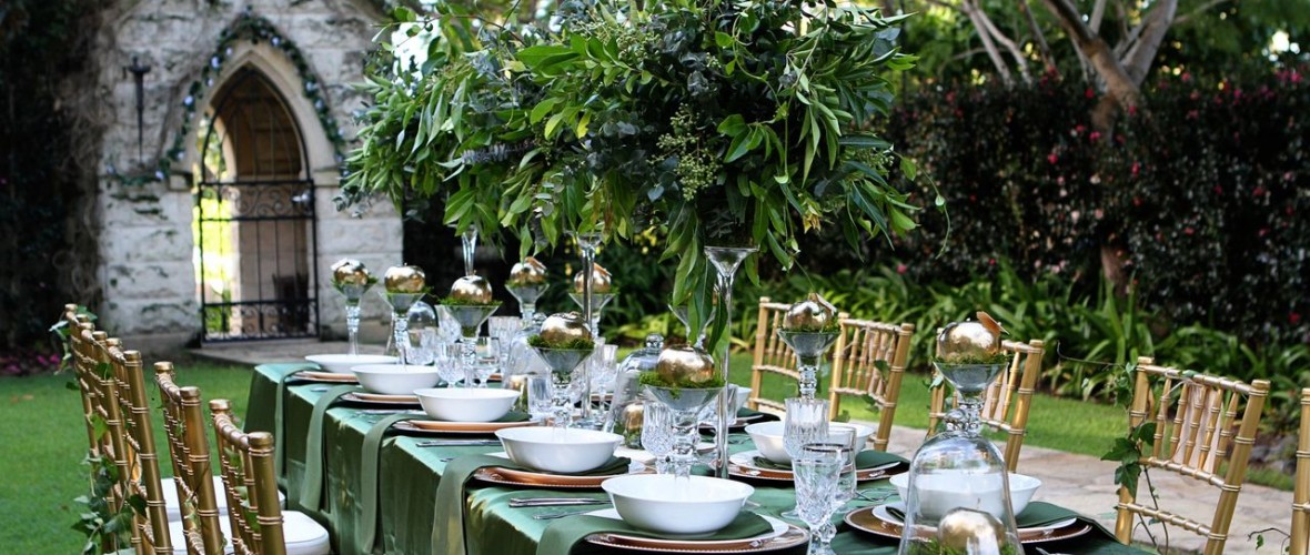 Evergreen Garden Venue Once Upon A Time Wedding Theme