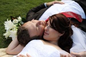 Evergreen Garden Venue Married Couple