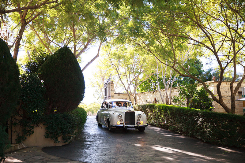 Rolls Royce wedding ceremony