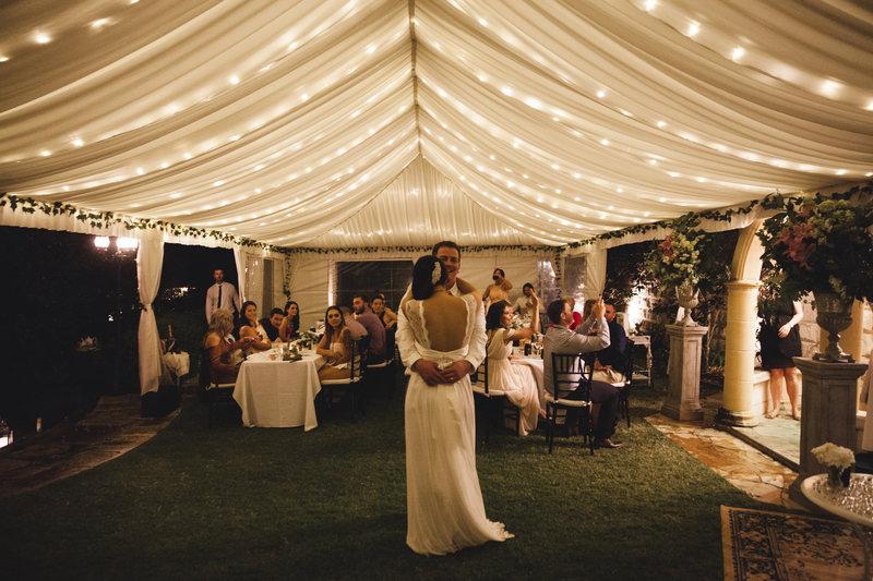 Marquee Wedding Evergreen Garden Venue
