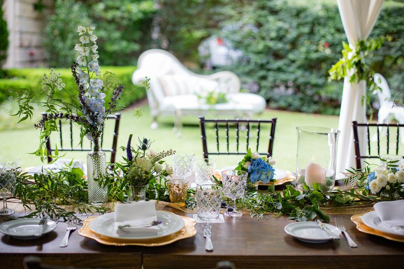 Garden Party Reception Evergreen Garden Venue
